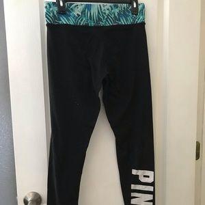 PINK! Reversible leggings